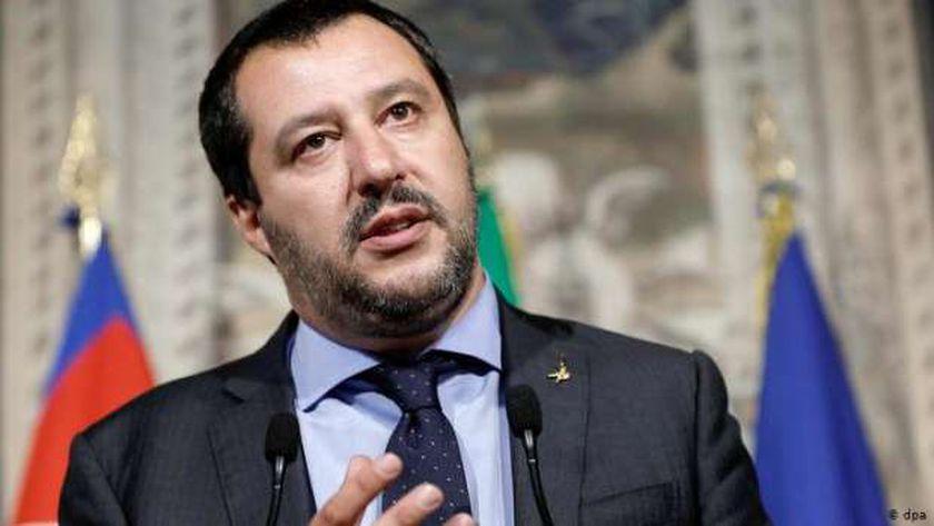 """زعيم حزب """"رابطة الشمال"""" الإيطالي المعارض ماتيو سالفيني"""