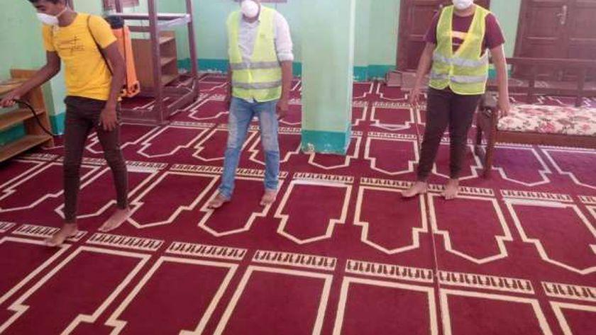 تعقيم المساجد