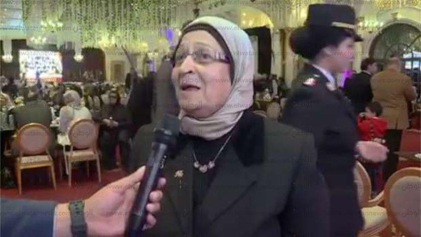 والدة الشهيد محمد جمال المأمون