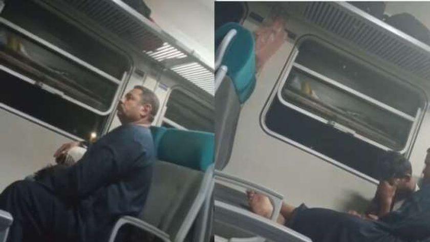 متحرش قطار القاهرة ـ أسوان