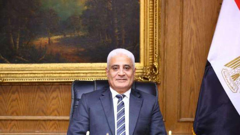 اللواء جمال عوض رئيس الهيئة القومية للتامين الاجتماعى