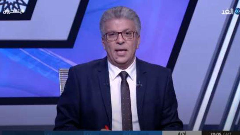 الكاتب والمفكر خالد منتصر