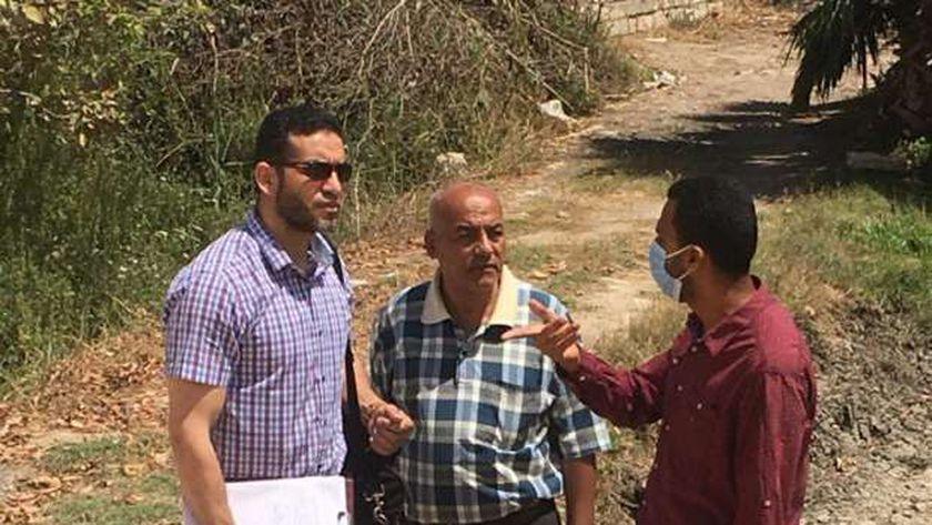 حفاظا على الظهير الريفي جولاته الميدانية على ٧ عزب بثانى المنتزه لرصد الشكاوي والمشاريع والخدمات