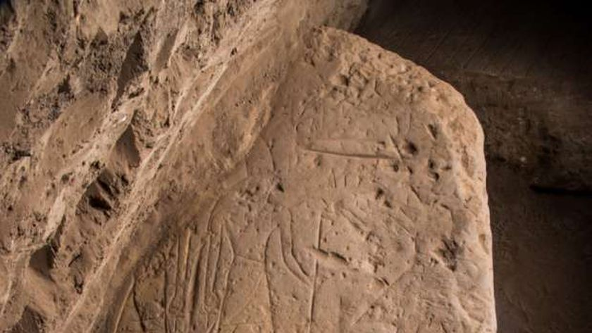اكتشاف لوحتين أثريتين بمعبد كوم امبو بأسوان