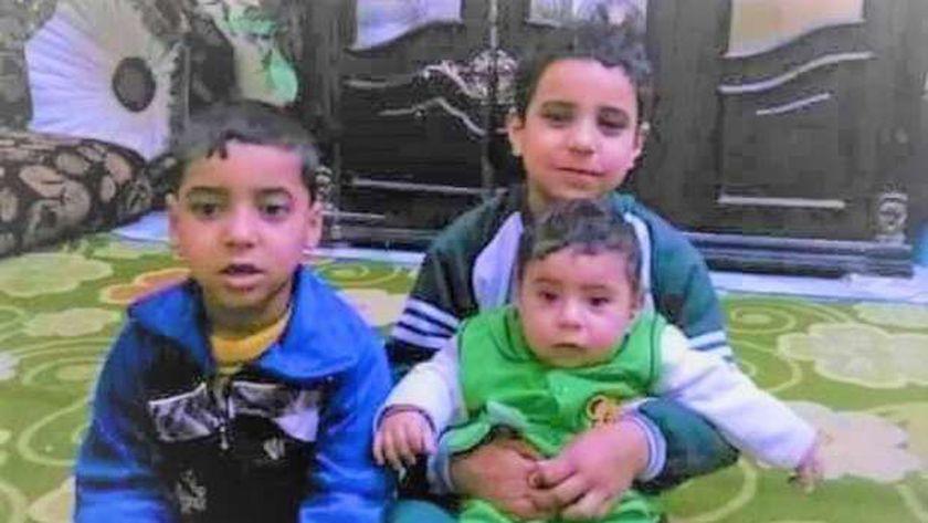 الأطفال ضحايا مذبحة الفيوم