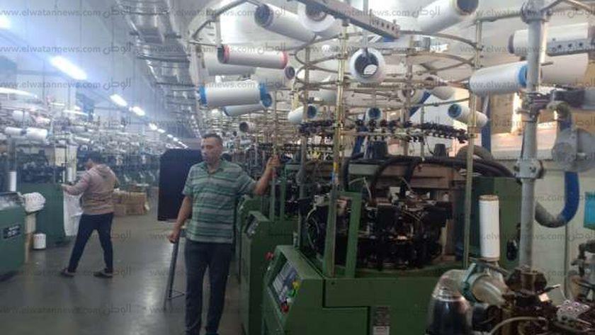مصنع غزل ونسيج