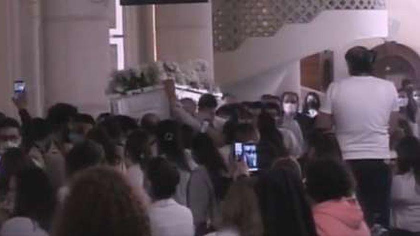 جنازة القس بيشوي كامل