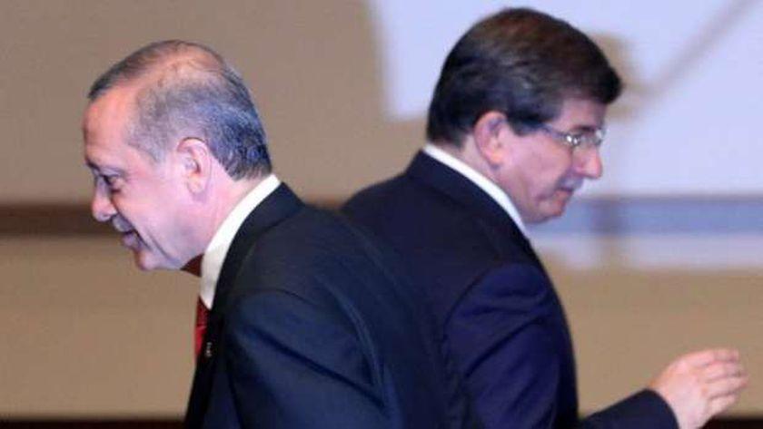 أردوغان وأوغلو