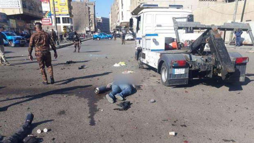 عاجل..الحصيلة النهائية لتفجير «بغداد» 28 قتيلا و 88 مصابا