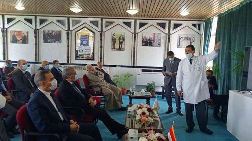 التفاصيل الكاملة لزيارة وزير التموين لمحافظة كفر الشيخ