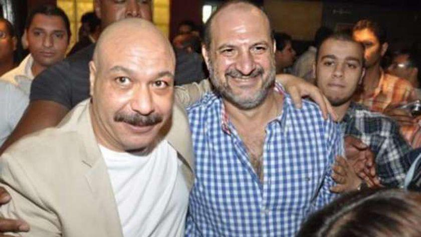 خالد صالح وخالد الصاوي