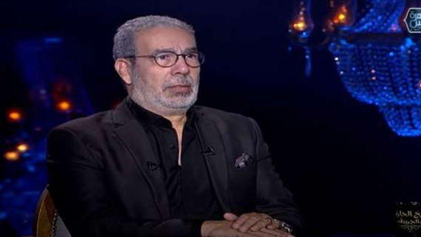 صورة مدحت العدل لـ إيناس الدغيدي: أسئلتك خبيثة ومصر مفيهاش 70 مليون أهلاوي – فن وثقافة