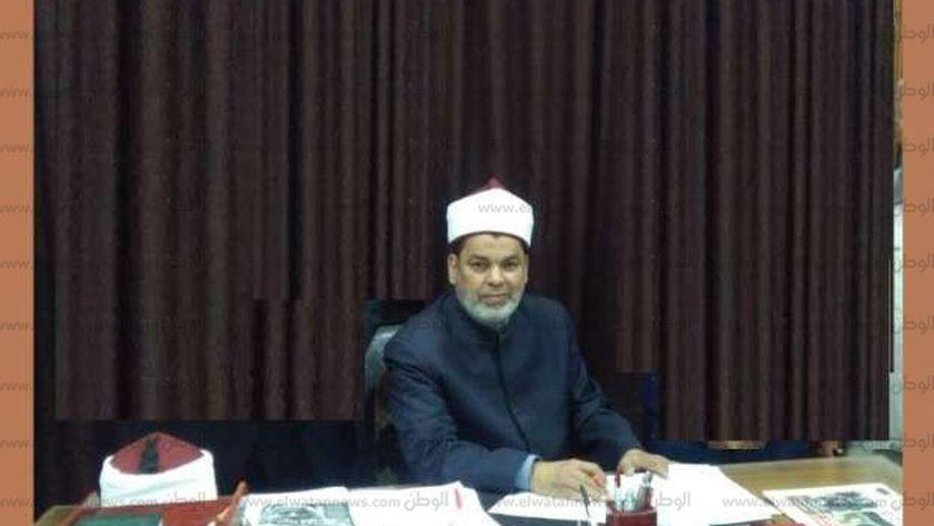 الدكتور محمد السروي رئيس الإدارة المركزية لمنطقة الشرقية الأزهرية