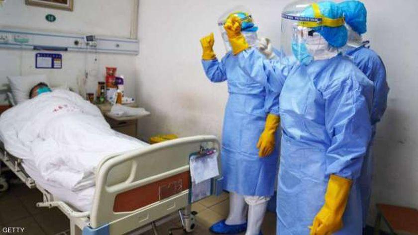 أحد مصابي فيروس كورونا في الصين