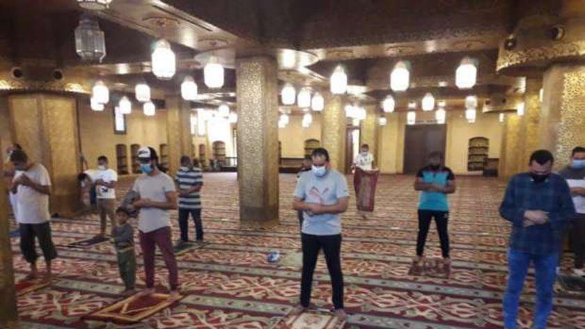 إجراءات احترازية في المساجد