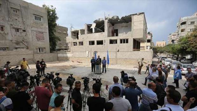 إعمار غزة- أرشيفية