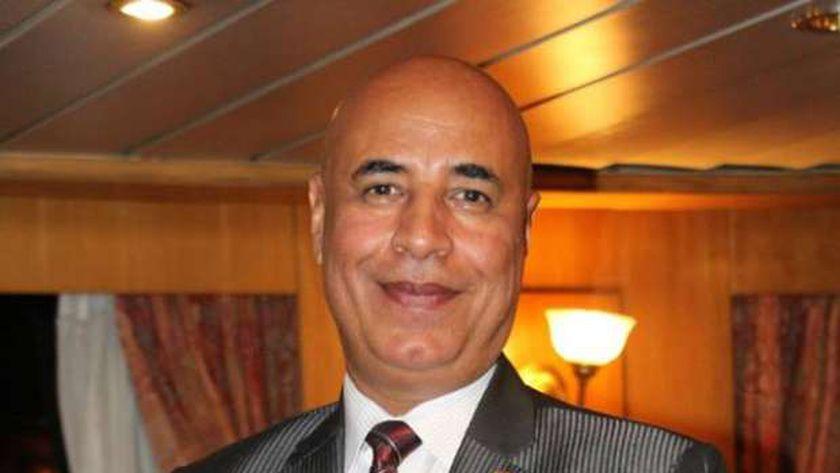 عادل حنفي نائب رئيس الاتحاد العام للمصريين في المملكة العربية السعودية