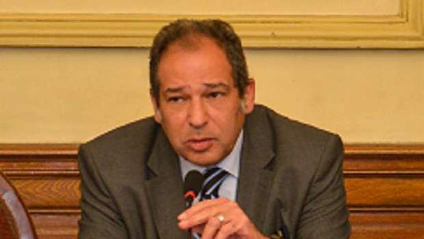 صورة حسام الخولي: مصر تسير في طريق التنمية مثل الدول المتقدمة – مصر