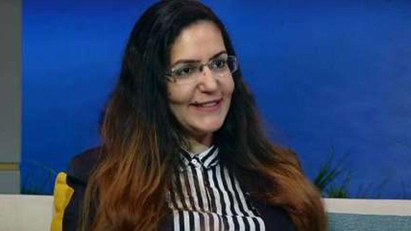 الدكتورة أميرة تواضروس مدير المركز الديموغرافي بوزارة التخطيط