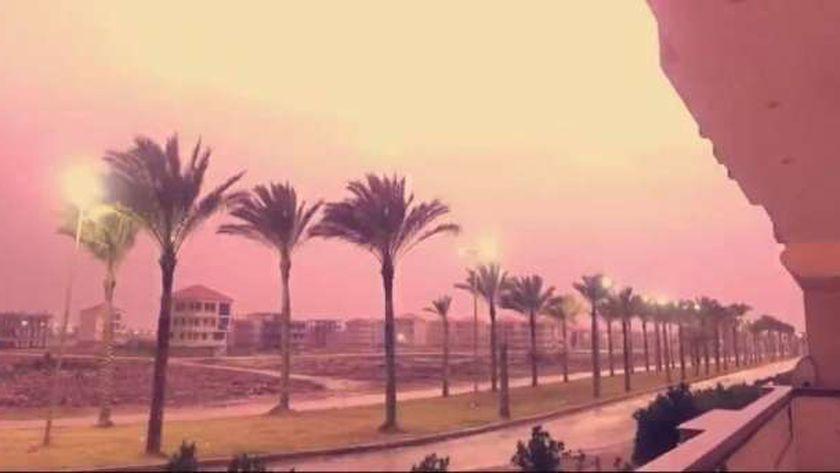 البرق في مدينة رأس البر
