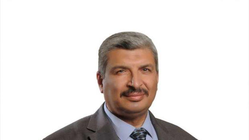 الدكتور عماد عويس رئيس مركز بحوث وتطوير الفلزات