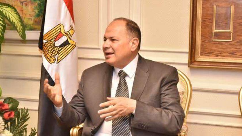 اللواء عصام سعد، محافظ أسيوط
