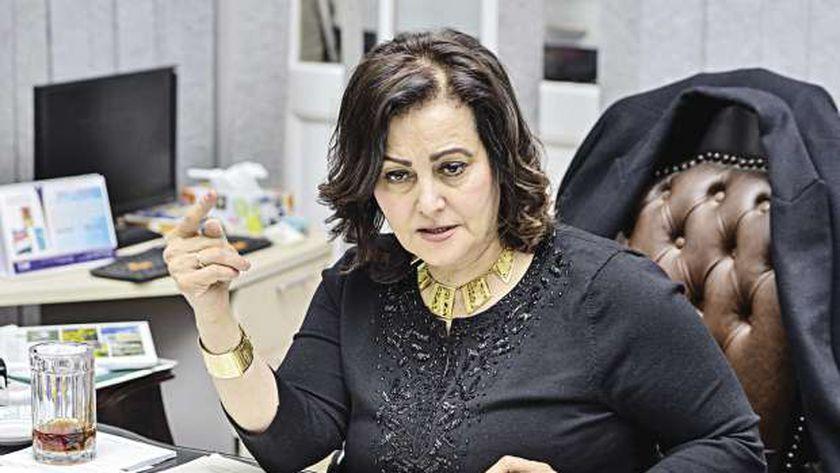 الدكتورة منى محرز، نائب وزير الزراعة السابق
