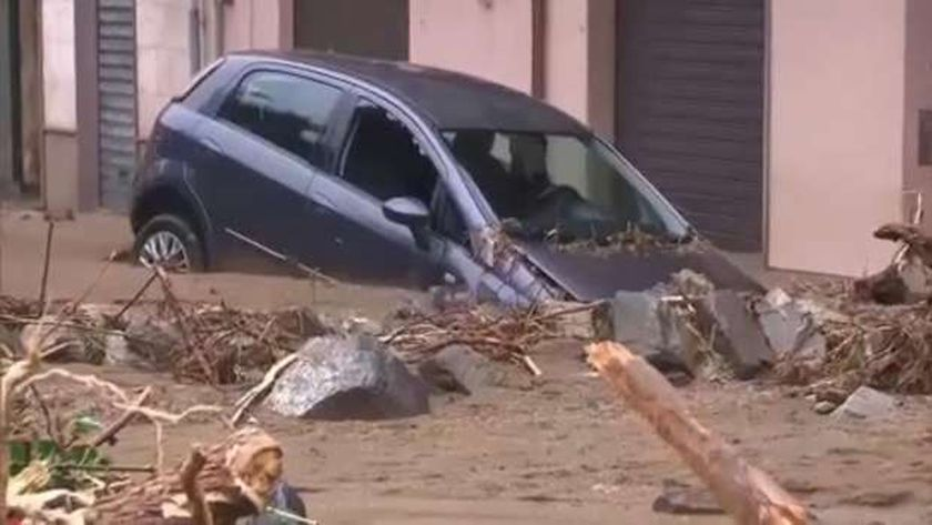 فيضانات سردينيا