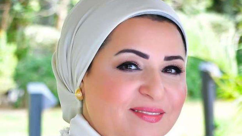 السيدة أنتصار السيسى حرم رئيس الجمهورية