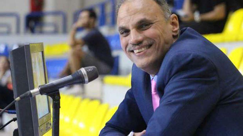 خالد خيري معلق مباريات المنتخب الوطني بطولة كأس العالم لكرة اليد