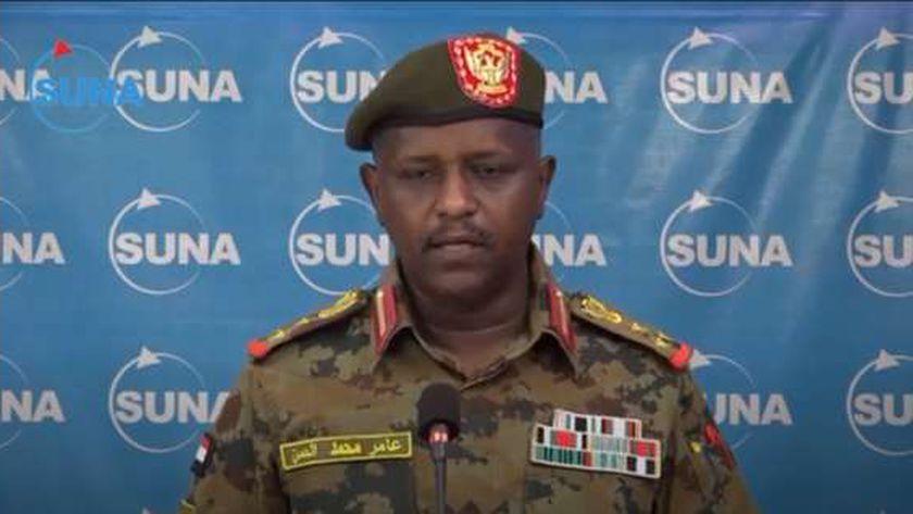 الناطق باسم الجيش السودانى