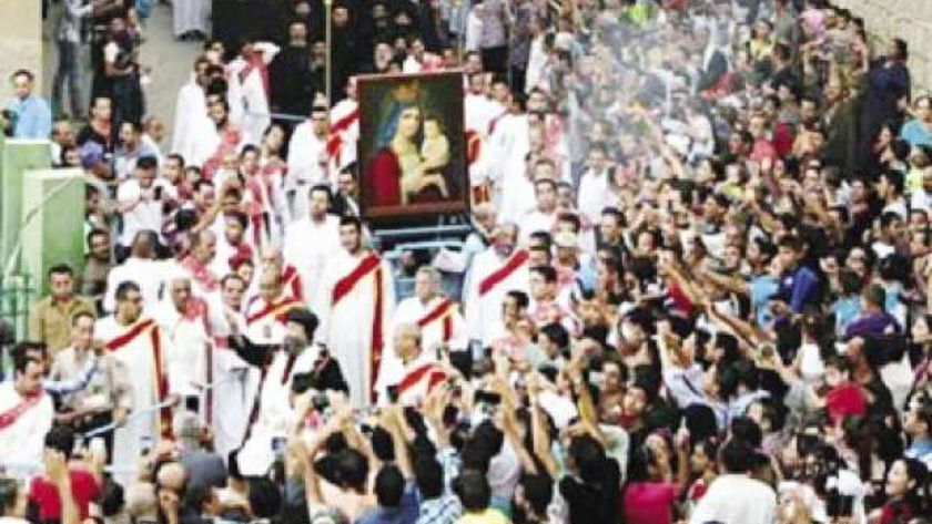احتفالات سابقة بمولد العذراء بالكنيسة