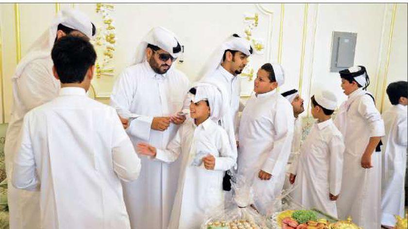 مظاهر الاحتفال بالعيد في قطر