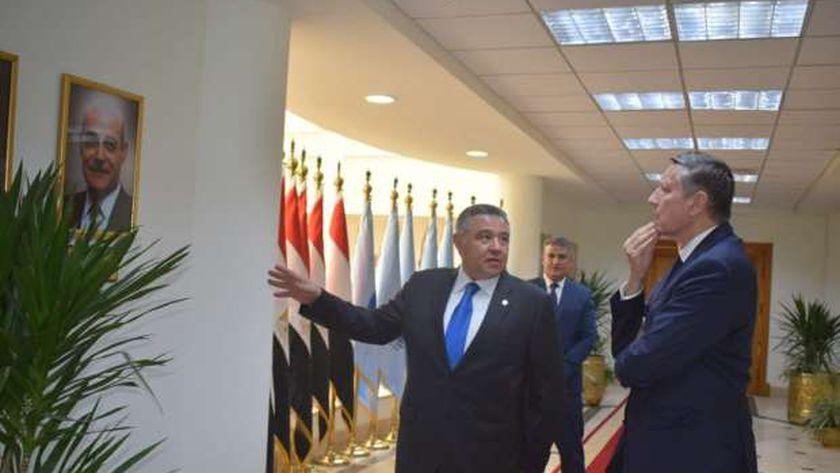 السفير الألماني في لقاء محافظ البحر الأحمر