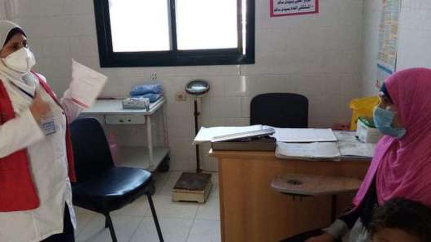 حملة الكشف المبكر عن سرطان الثدي بكفر الشيخ