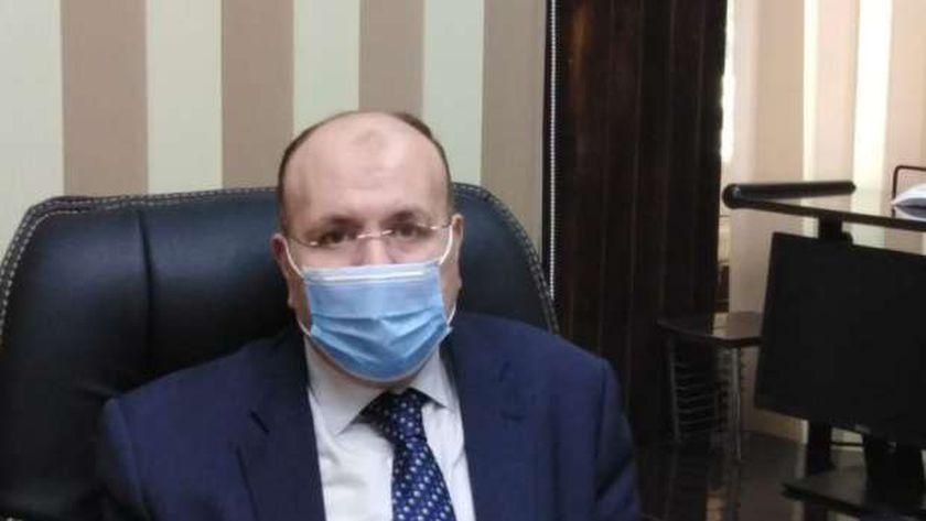المستشار إسامة شعت، رئيس محكمة كفرالشيخ الابتدائية، ورئيس لجنة متابعة عمليات تلقي طلبات الترشح
