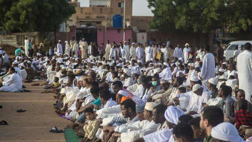 صلاة العيد في السودان (أرشيفية)