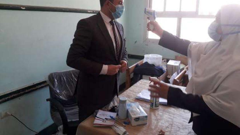 احدى لجان كفر الشيخ الانتخابية