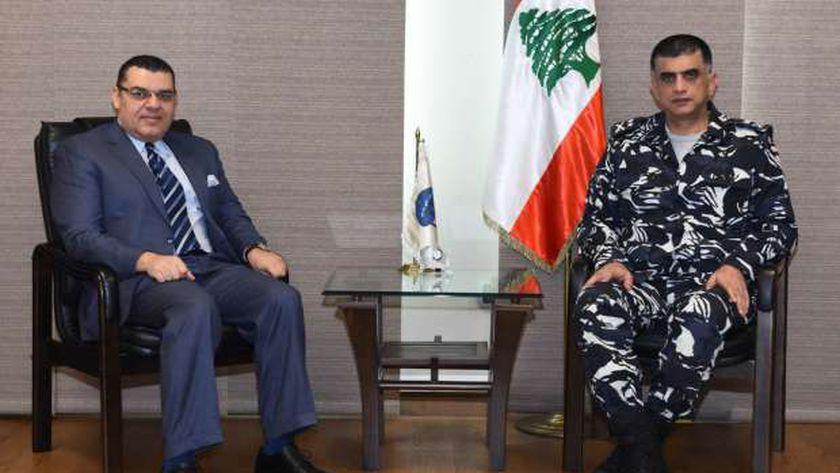 سفير مصر لدى لبنان الدكتور ياسر علوي