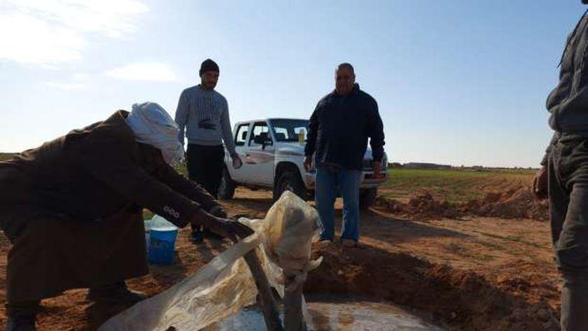 صورة إنشاء 60 خزانا لمياه الأمطار بمطروح – المحافظات