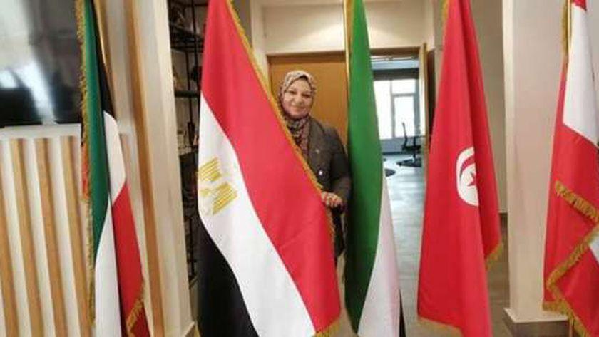المهندسة صباح محمد مشالى رئيس مجلس إدارة الشركة المصرية لنقل الكهرباء