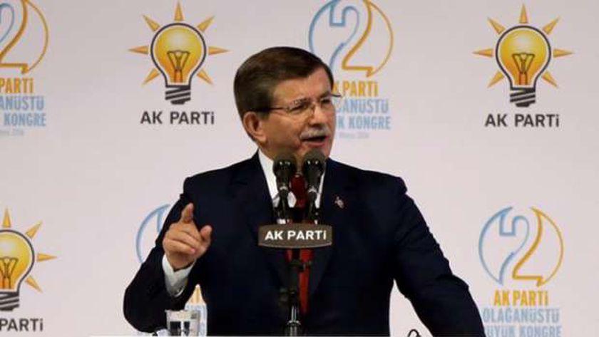 """أحمد داود أوغلو رئيس حزب """"المستقبل"""" التركي"""