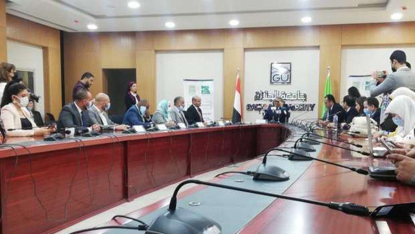الدكتور أشرف حيدر رئيس جامعة الجلالة
