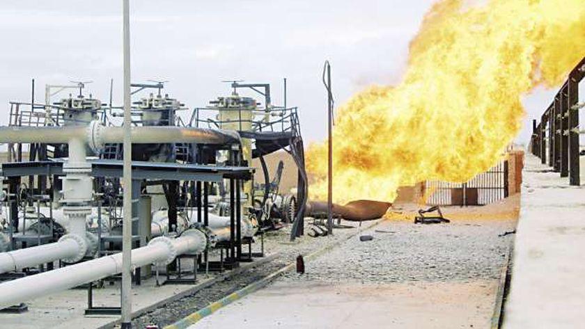 خطوط الغاز