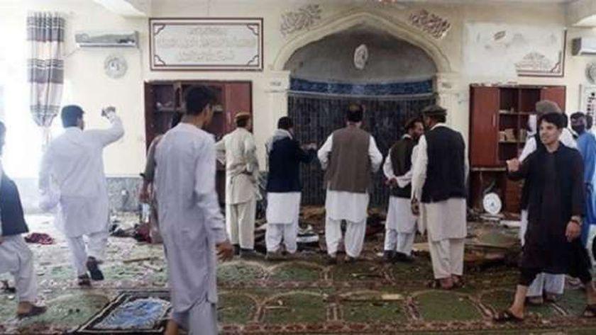 انفجار مسجد كابول
