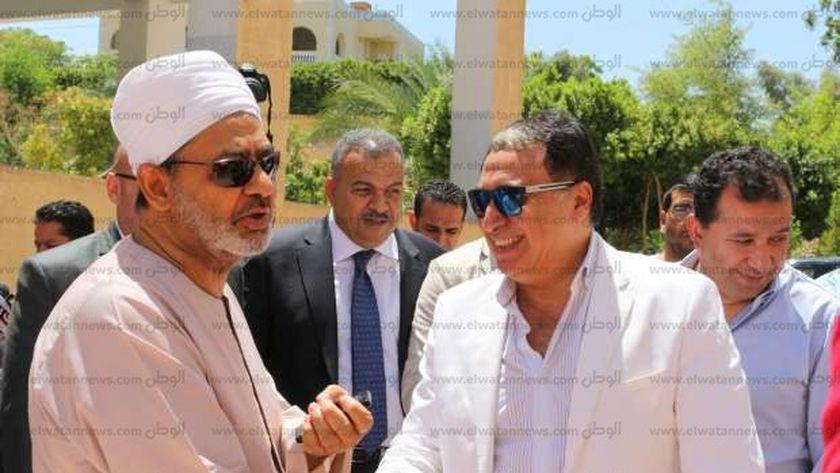 شي الازهر يستقبل وزير الصحة
