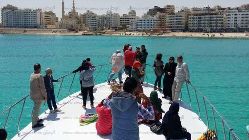 رحلات اليخت في مرسى مطروح