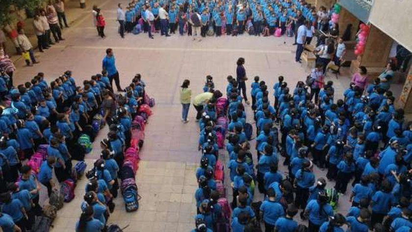 صورة أرشيفية من أحدى مدارس نجع حمادي