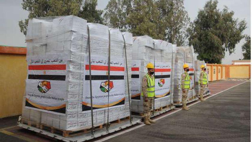 مصر ترسل مساعدات