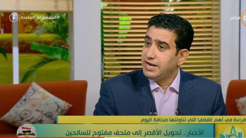 الكاتب الصحفي سامي عبدالراضي مدير تحرير جريدة «الوطن»